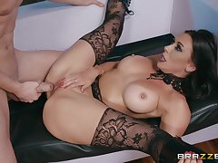 Order about MILF in hibernate boots Rachel Starr pussy fucked hardcore