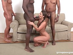 Plucky hunks are preparing roughly provide Amirah Adara the on presentation anal