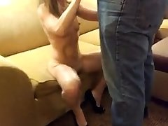 Angry sulky slut interracial blowjob bukkake facial