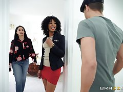 Misty Stone loves when will not hear of darling feeds will not hear of with cock amazing sex from behind